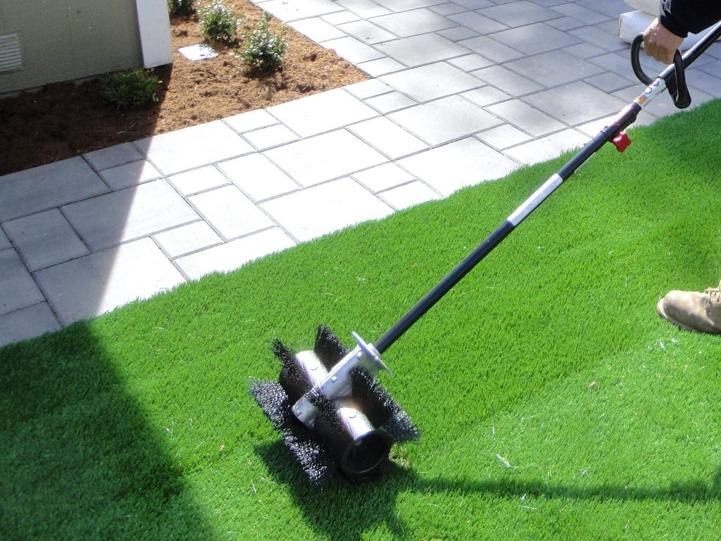 Synthetic Grass Cleaning Techniques Inland Empire, Artificial Turf Cleaning Process
