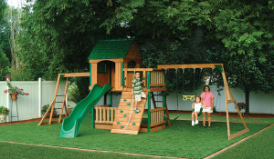 Playground Safety Surfacing Contractor in Inland Empire, Synthetic Grass Playground Company