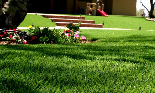Synthetic Grass Custom Design Company Inland Empire, Best Custom Artificial Lawn Pricing