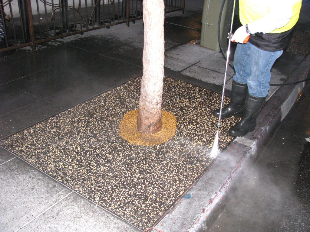 Tree Well Maintenance Service Inland Empire, Porous Tree Well Install Inland Empire
