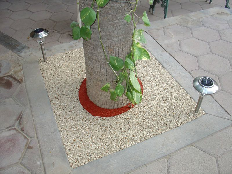 Rubber Tree Well Installation in Inland Empire, Porous Tree Well